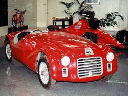 Первая машина марки Феррари - модель 125S