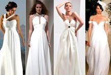 Каждой фигуре – свое свадебное платье